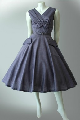 Early era vintage 1950s cotton dress