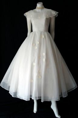 1950s Sylvia Bridal Originals dress