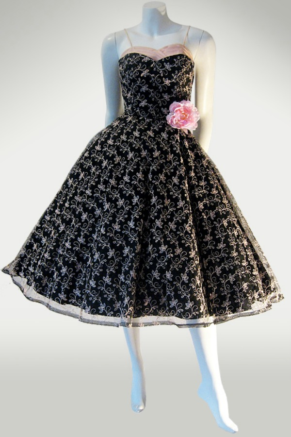 50s prom dress by Junior Theme NY