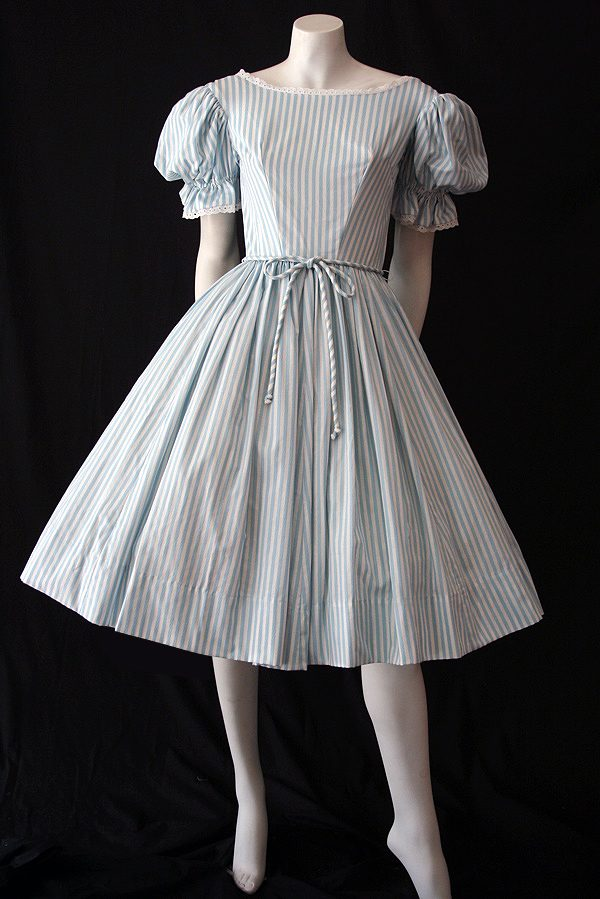 a890e843602 Genuine vintage 1950s cotton dress - Vintage Clothing