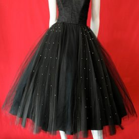 Vintage 1950s prom dress by Fred Perlberg.