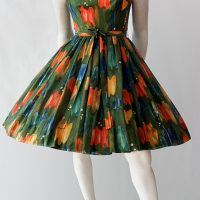 Vintage 50s cotton sundress