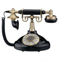 contact us - vintage phone