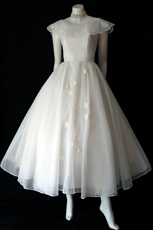 1950s Sylvia Bridal Originals dress