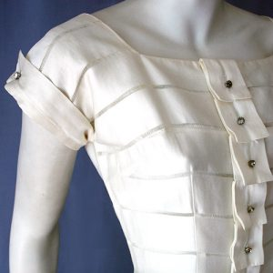 Original 1950s Swiss cotton day dress