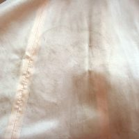 1950s Baker of Melbourne formal dress line markings